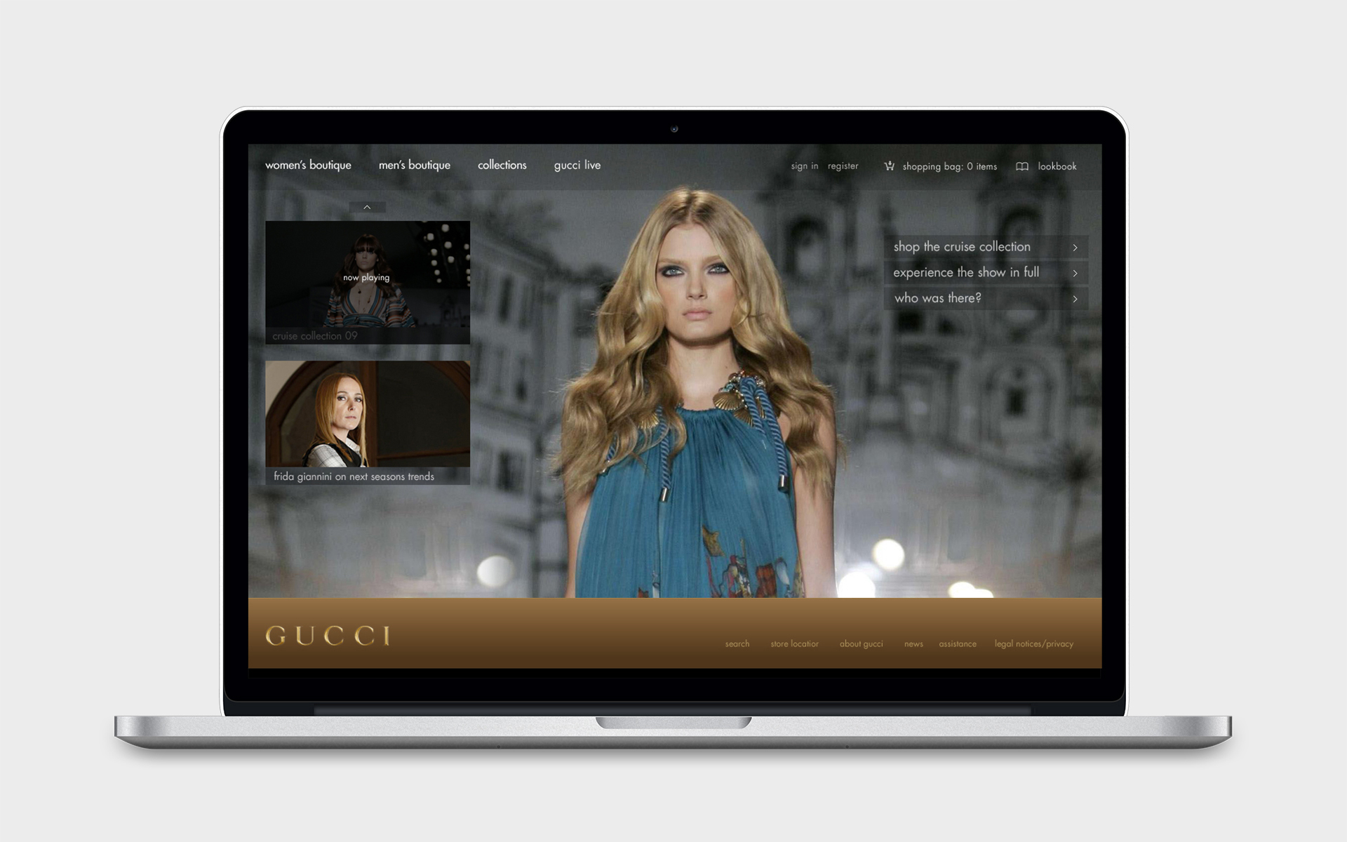 Paige Smith Portfolio Gucci Ecommerce Pitch