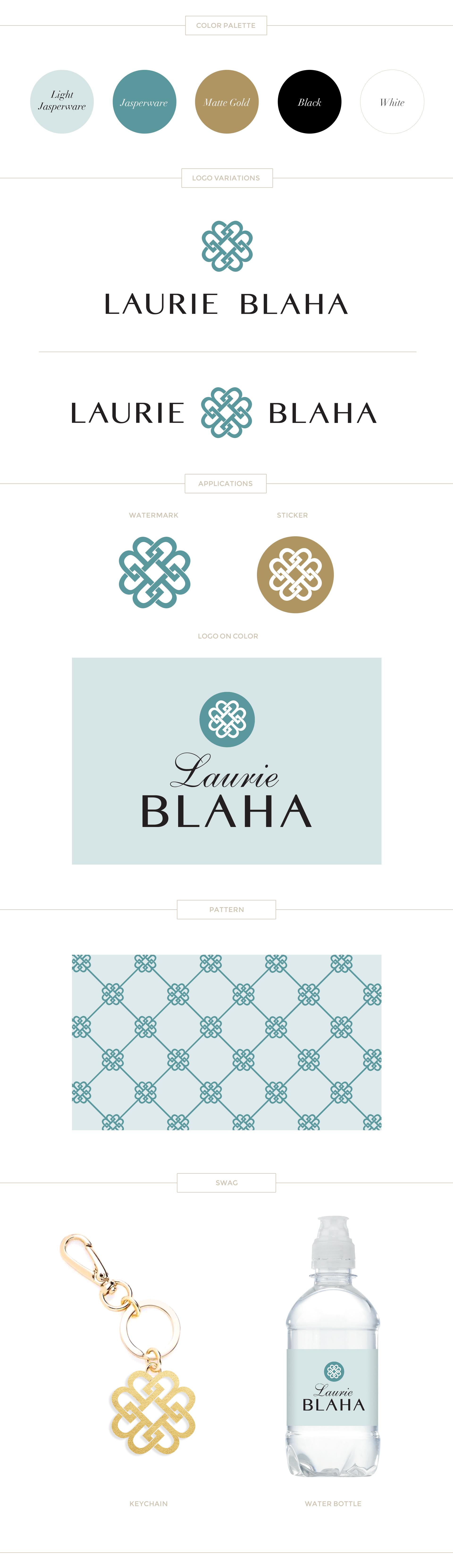 Paige Smith Portfolio Laurie Blaha Brand Identity Style Board