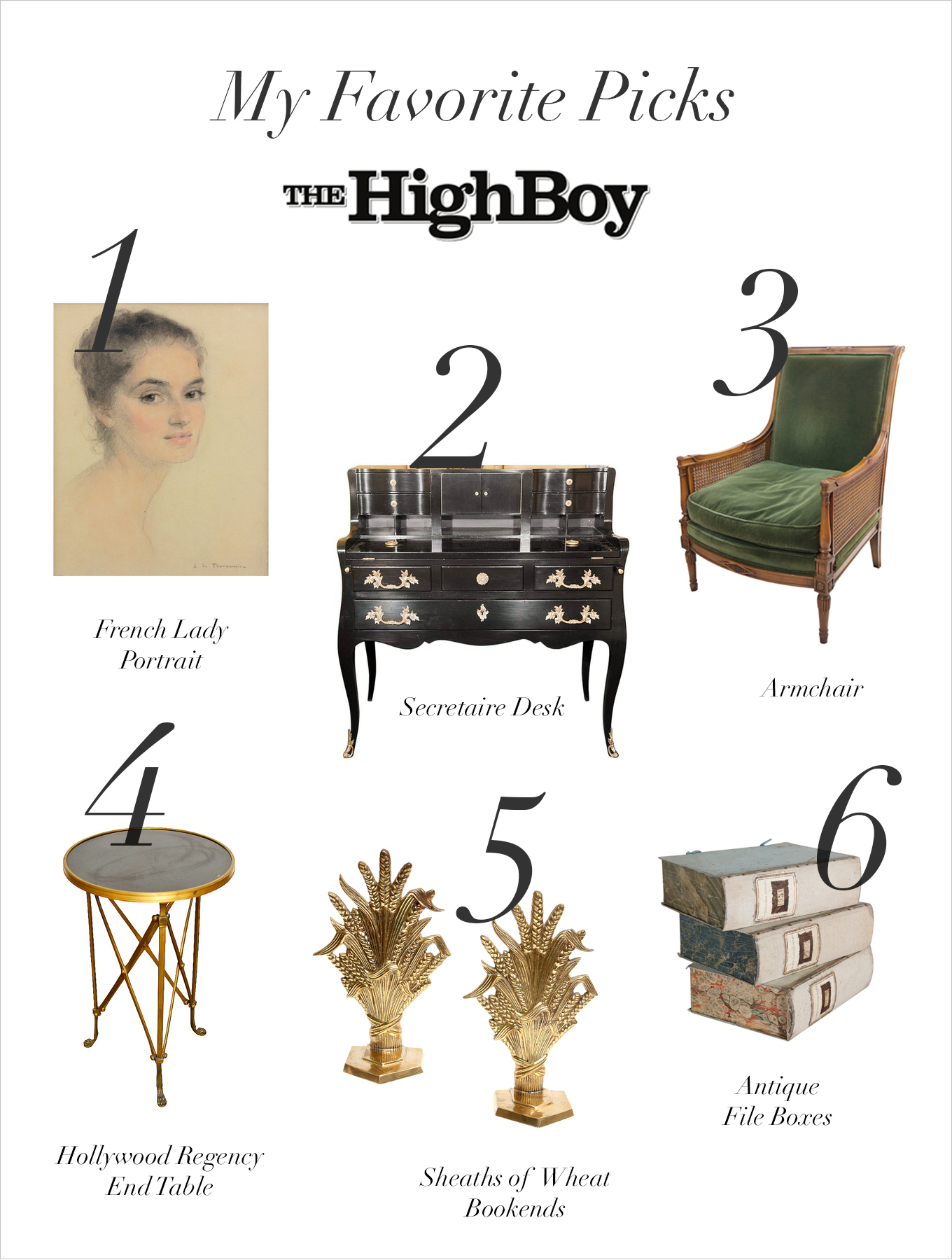 The High Boy_Products