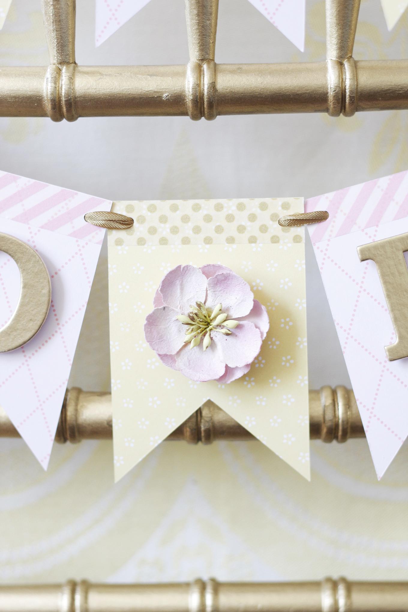 wedding shower bride to be banner