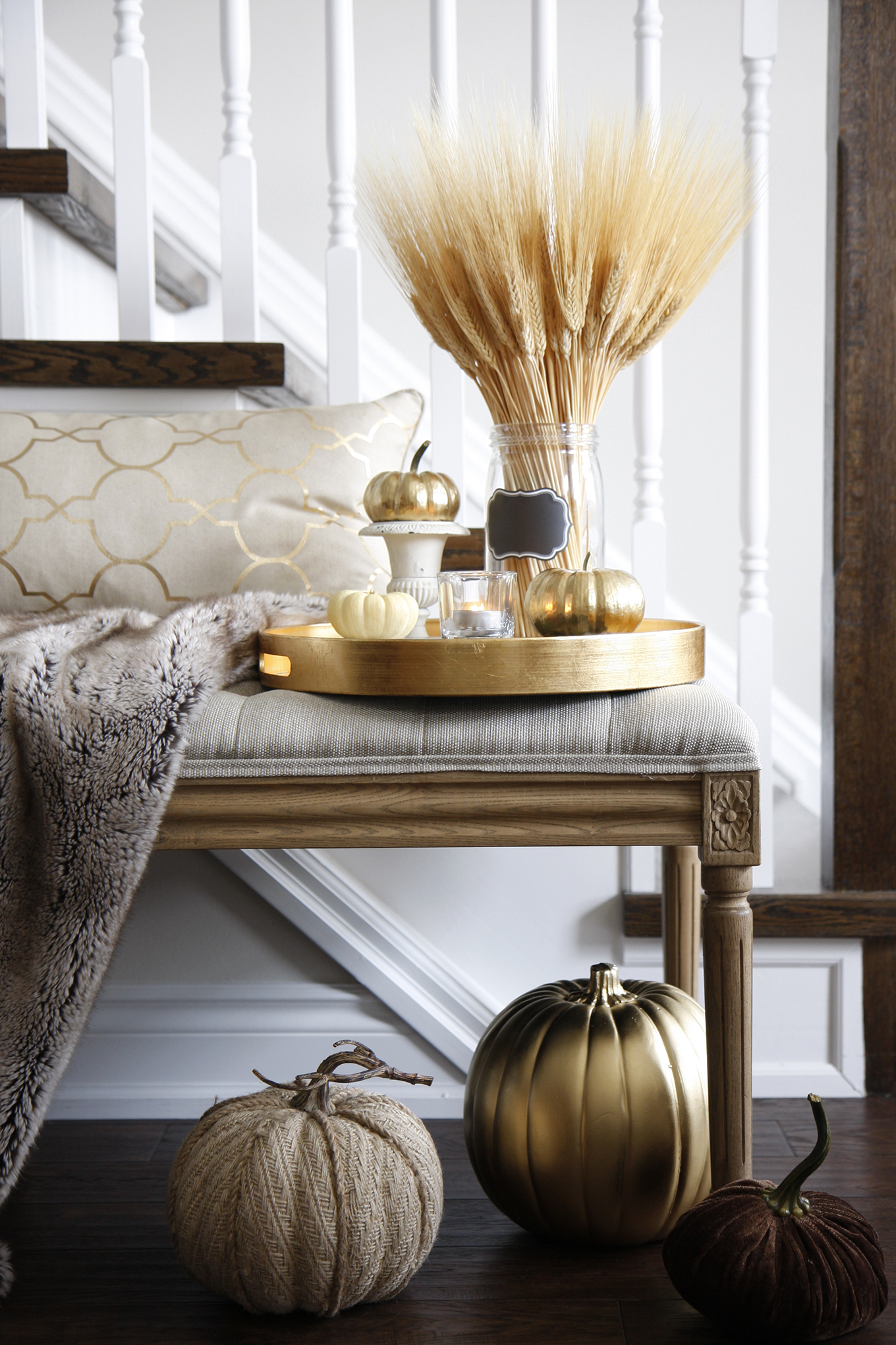 Decorating for Fall in Home