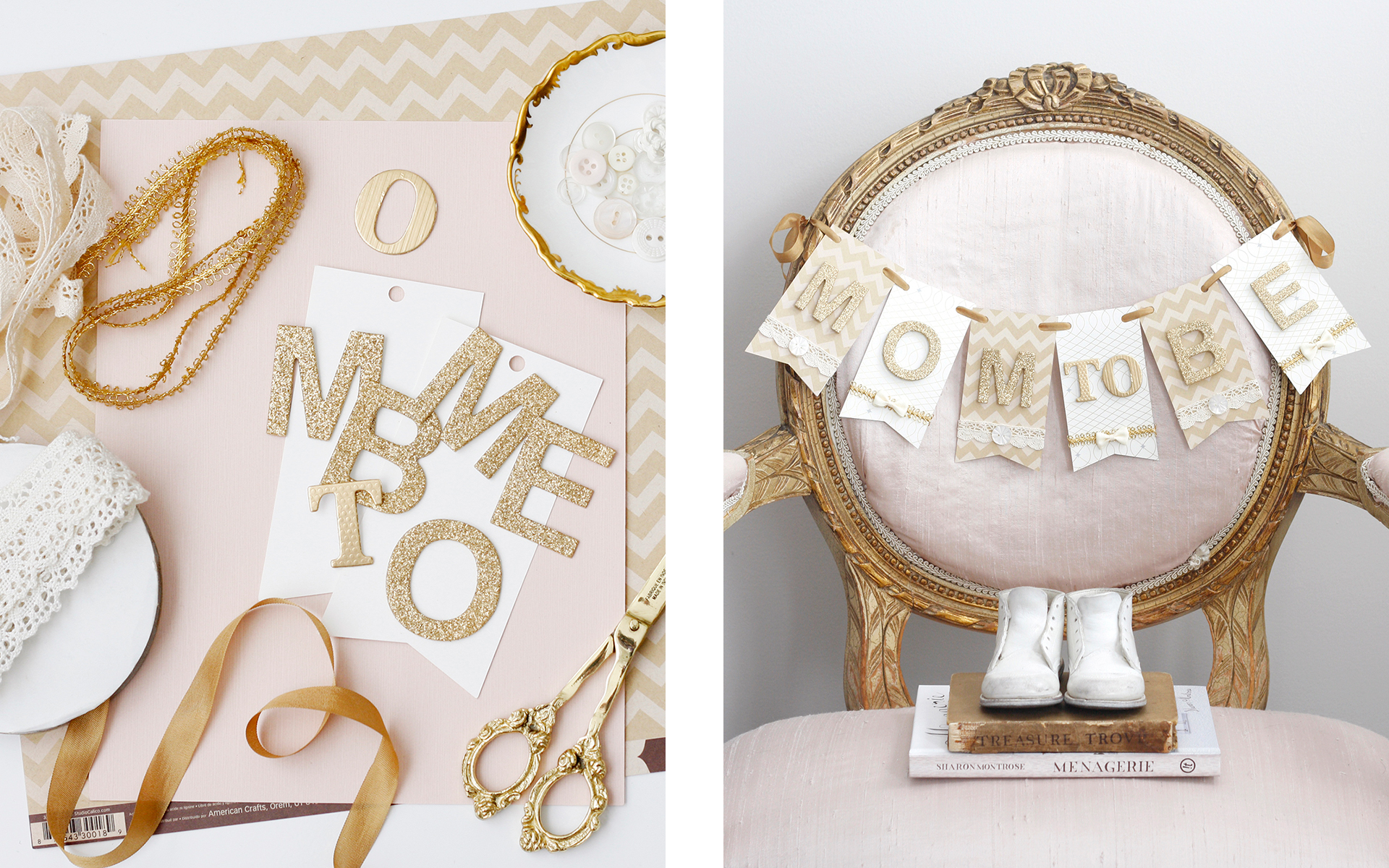 Paige Smith Portfolio Makeful DIY Challenge Mom to Be Banner