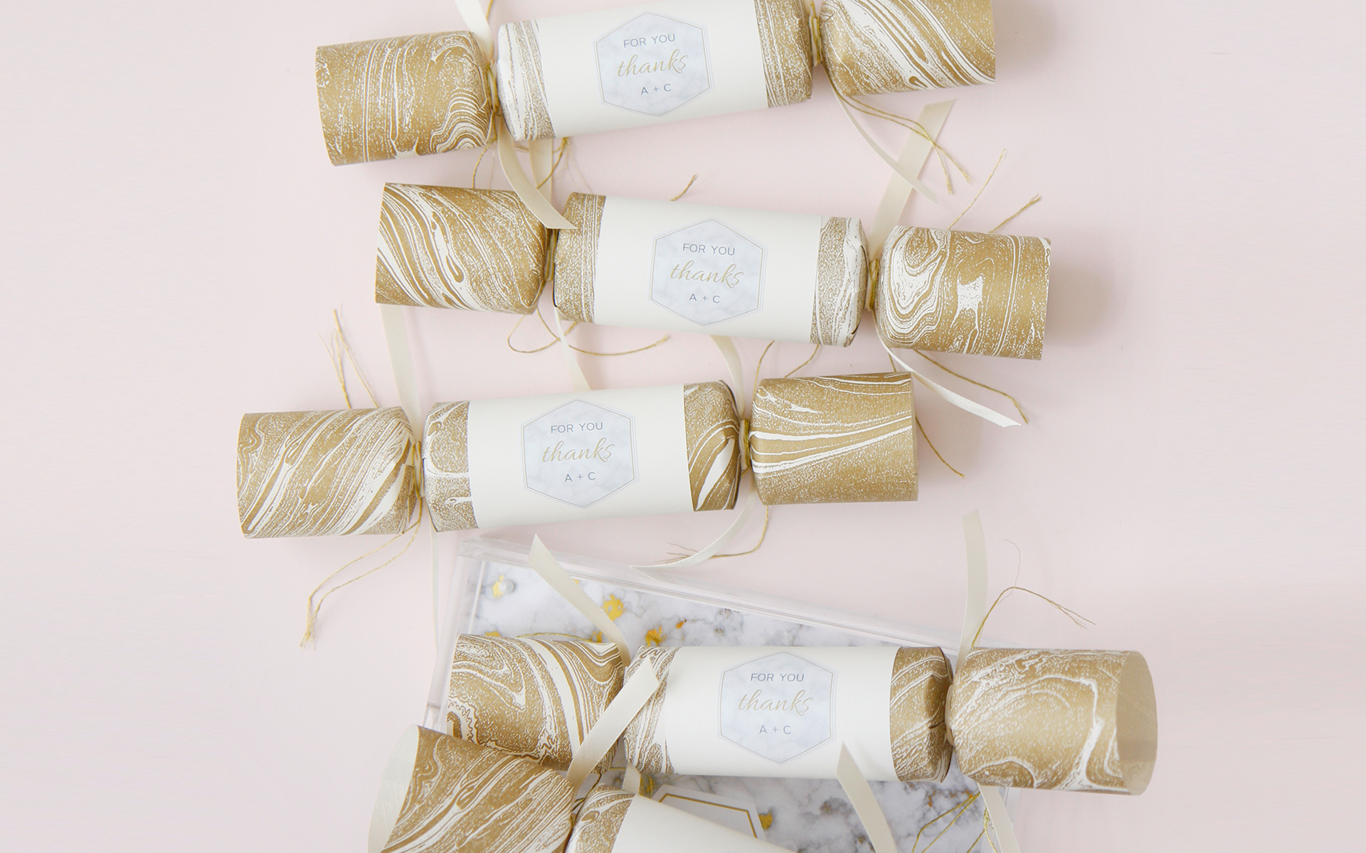 Paige Smith Portfolio DIY Poppers for Weddingstar Wedding Favours