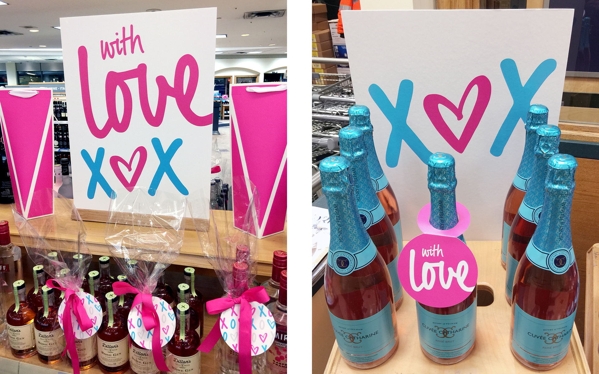 Paige Smith Designs LCBO Valentines Day Merchandising Tool Kit