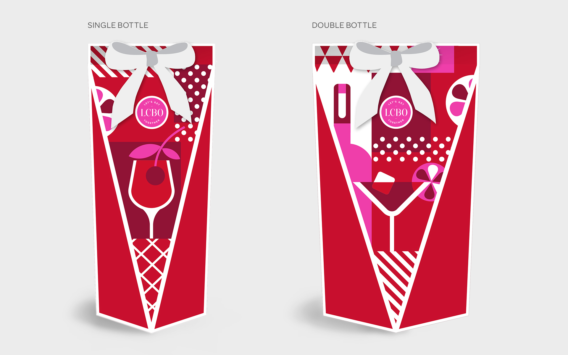 Paige Smith Design LCBO Holiday Packaging Boxes