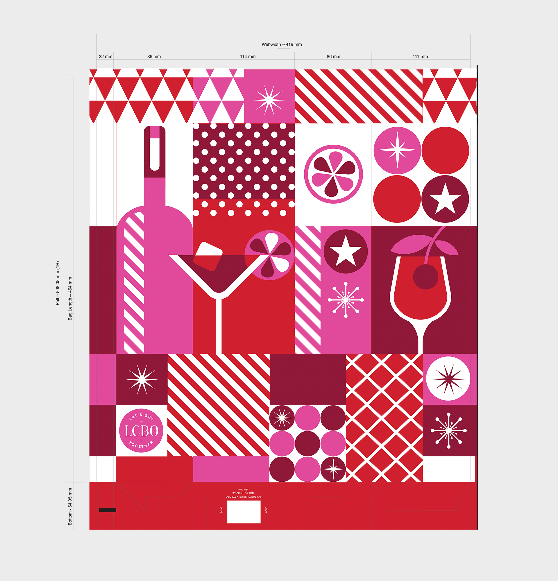 Paige Smith Design Holiday Packaging Pattern