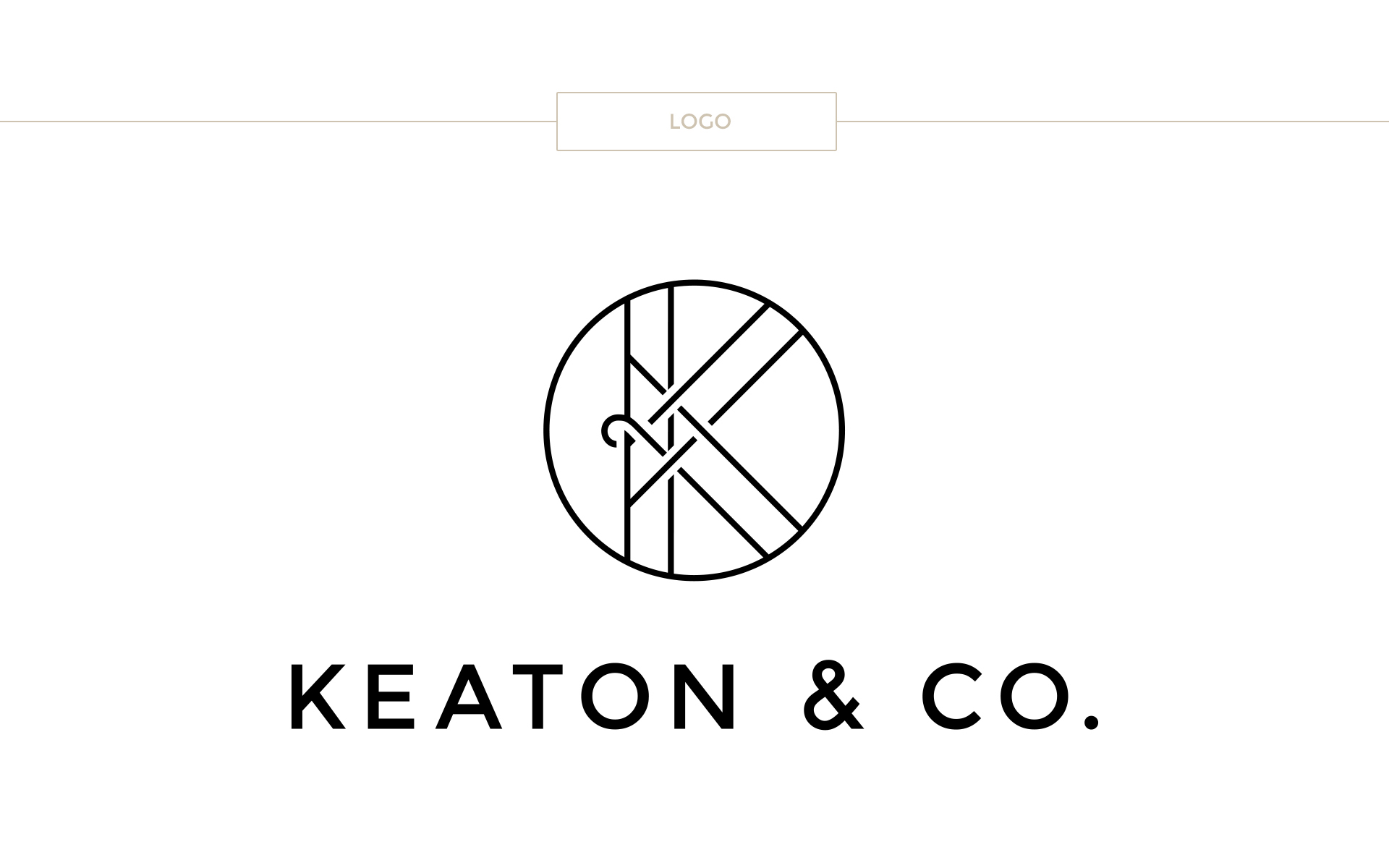 Paige Smith Designs Portfolio Keaton and Co Branding