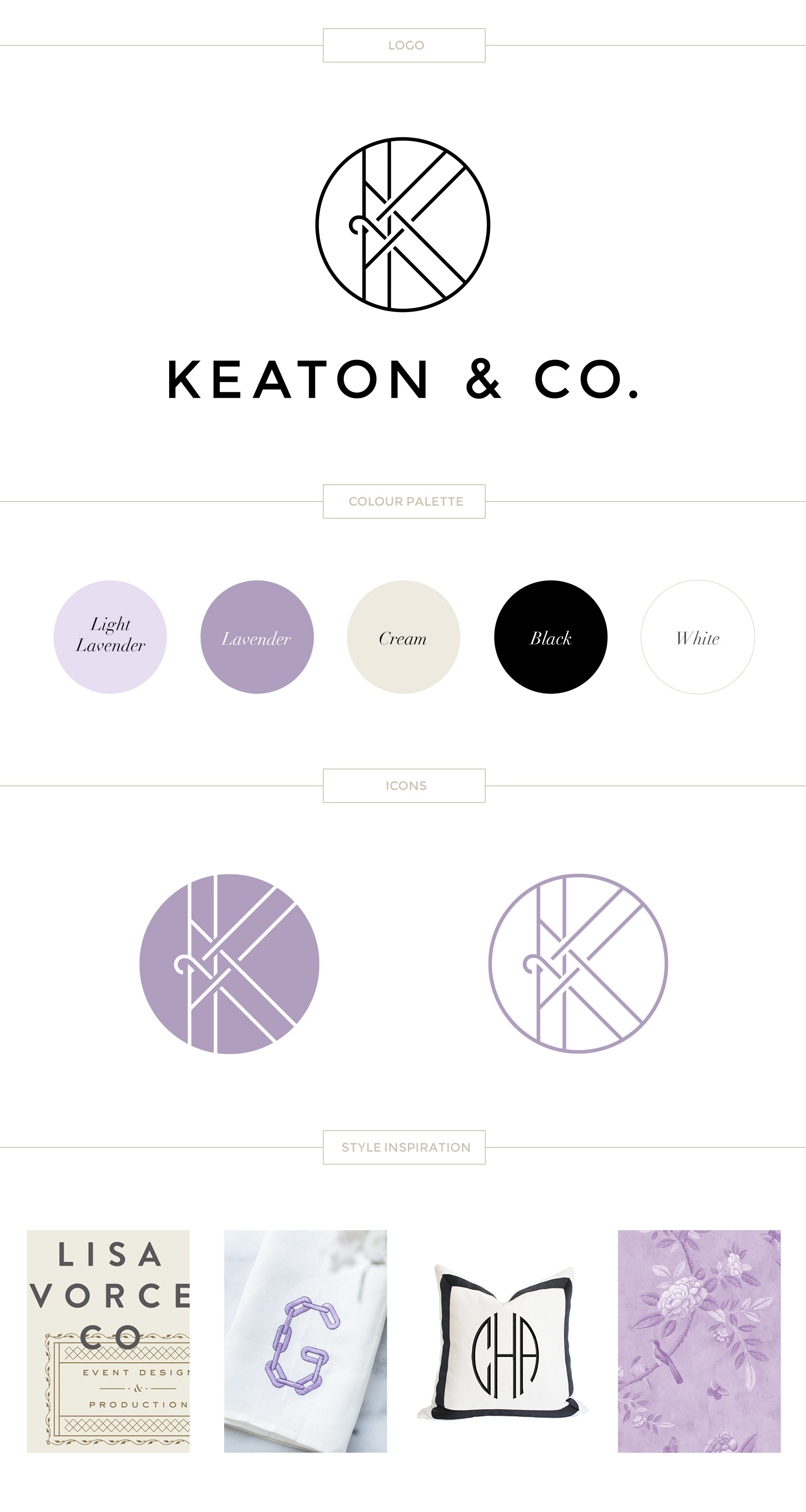 Paige Smith Portfolio Keaton & Co Brand Identity