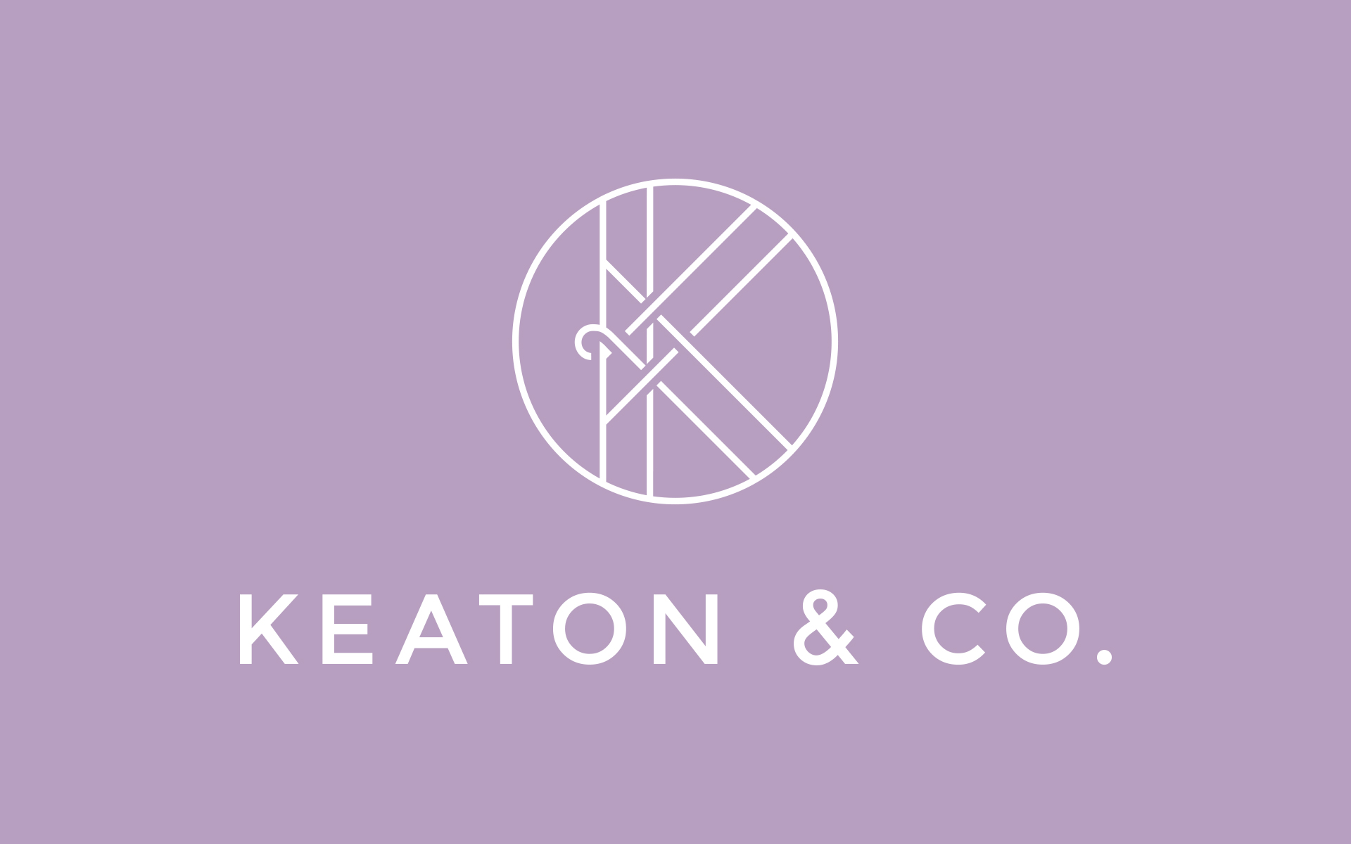 Paige Smith Portfolio Keaton and Co Brand Identity
